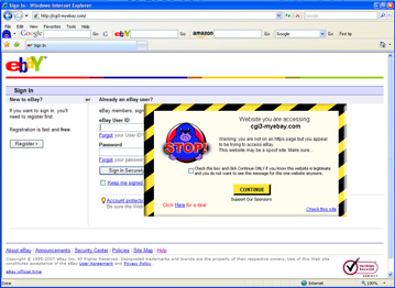 My little mole will also alert on spoof sites the